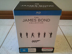 THE-JAMES-BOND-007-BLU-RAY-23-MOVIES-COLLECTION-BOX-SET
