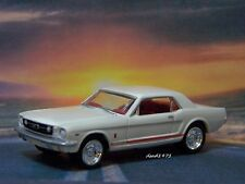 1966 66 FORD MUSTANG GT COLLECTIBLE 1/64 SCALE DIECAST MODEL DIORAMA OR DISPLAY