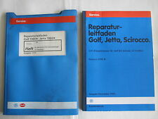 Golf GTI 16V KR K-Jetronic+Diagnose+Motor+Mechanik+Schaltplan Reparaturanleitung