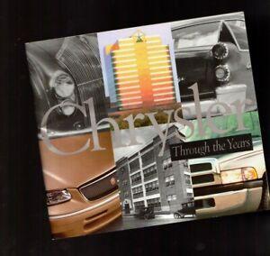 Grande-Chrysler-Corp-Emesso-Storia-Brochure-Libro-585ms-607ms-Muscle-Auto