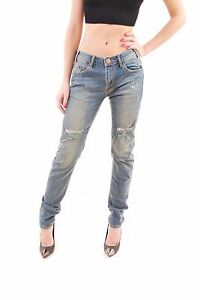2a1660b3a28e One Teaspoon Women s New Hoodlums Labyrinth Blue Jeans Size 26 RRP ...