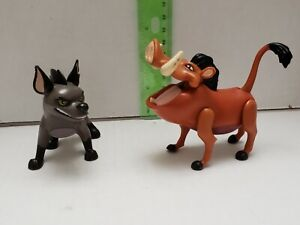 DISNEY-THE-LION-KING-ACTION-FIGURE-TOY-LOT-of-2