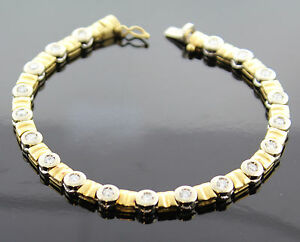 elegantes brillant armband aus 750 gold zus 1 90ct bicolor wert eur 6990 ebay. Black Bedroom Furniture Sets. Home Design Ideas