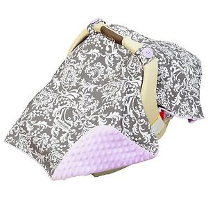 Image Is Loading CARSEAT CANOPY BABY CAR SEAT COVER BLANKET