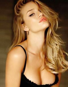 poster rosie huntington whiteley top model modella sexy