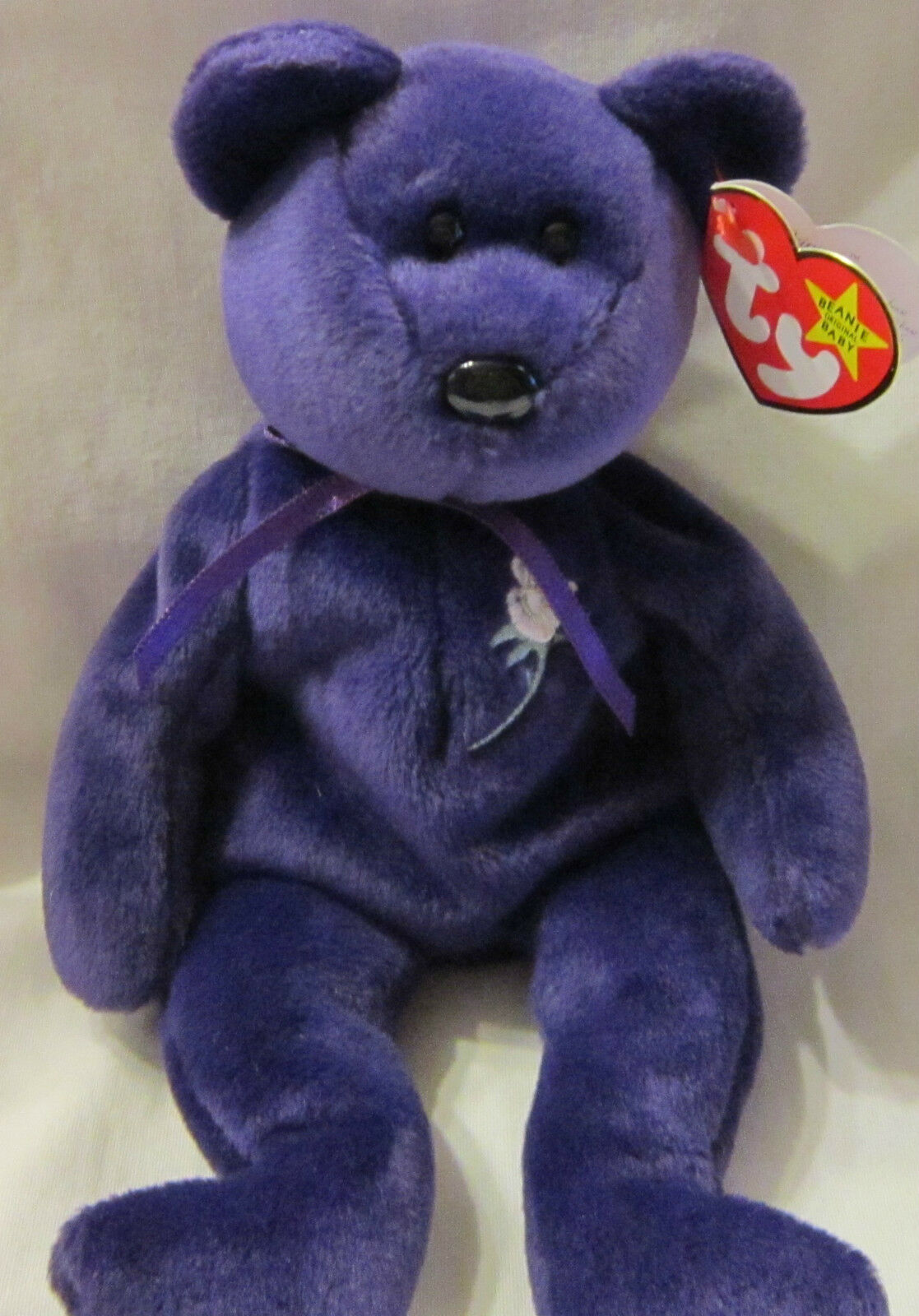 Ty Beanie Babies Original Princess Diana MWMT in a Box RARE Misspelled ST
