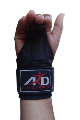 ARD Basic Power Weight Lifting Bar Hook Straps Supports Gym Training Fist Wraps