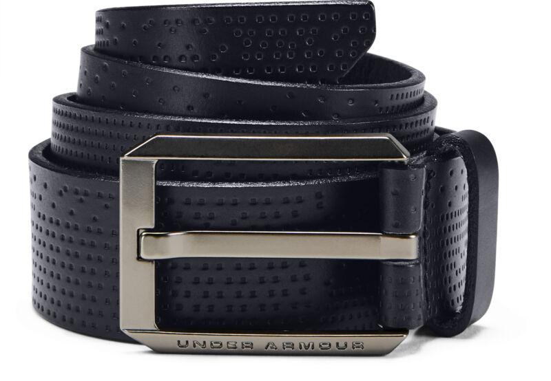 Blu Anthoni Crown Uomo in Pelle Cintura con Logo di ancoraggio Automatik-Fibbia