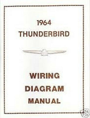 1964 Ford Thunderbird TBird Wiring Manual | eBay