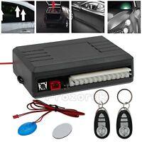 2 Remote Universal Car Central Kit Door Lock Vehicle Keyless Entry System Alarm