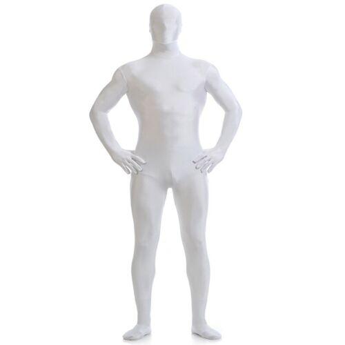 Party Costume Invisible Morph Suit Adult Men Women Full Body Spandex Jumpsuit