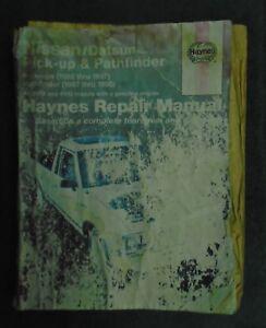 i haynes nissan datsun pick ups 80 97 pathfinder 87 95 repair rh ebay com haynes repair manual 2000 gmc c6500 haynes repair manual 2000 gmc c6500