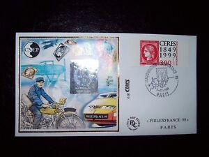 1999-ENVELOPPE-1er-JOUR-FDC-BLOC-CNEP-034-PHILEXFRANCE-99-034-CERES-AVEC-HOLOGRAMME