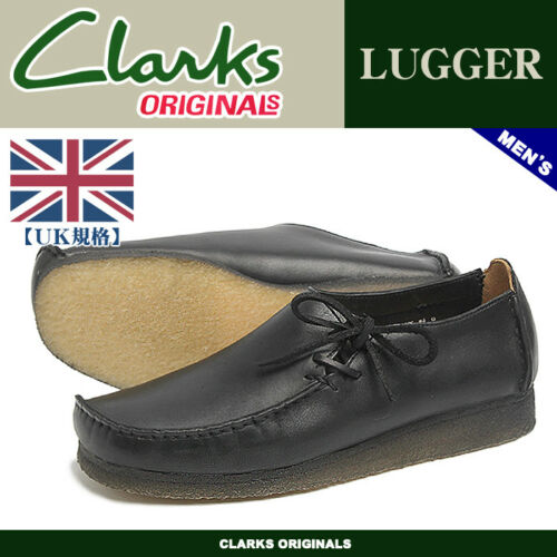 Originales 11 Wallabees Mens 8 G 7 9 Gb Lugger Negro Lea 12 10 Clarks T5BqxSx