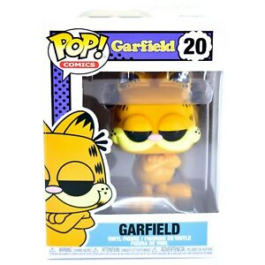 Funko Pop Comics Garfield 20 Vinyl Action Figure Ebay