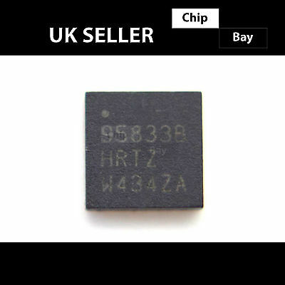 2x Intersil ISL95833HRTZ 95833HRTZ Dual 2+1 PWM Controller IC Chip