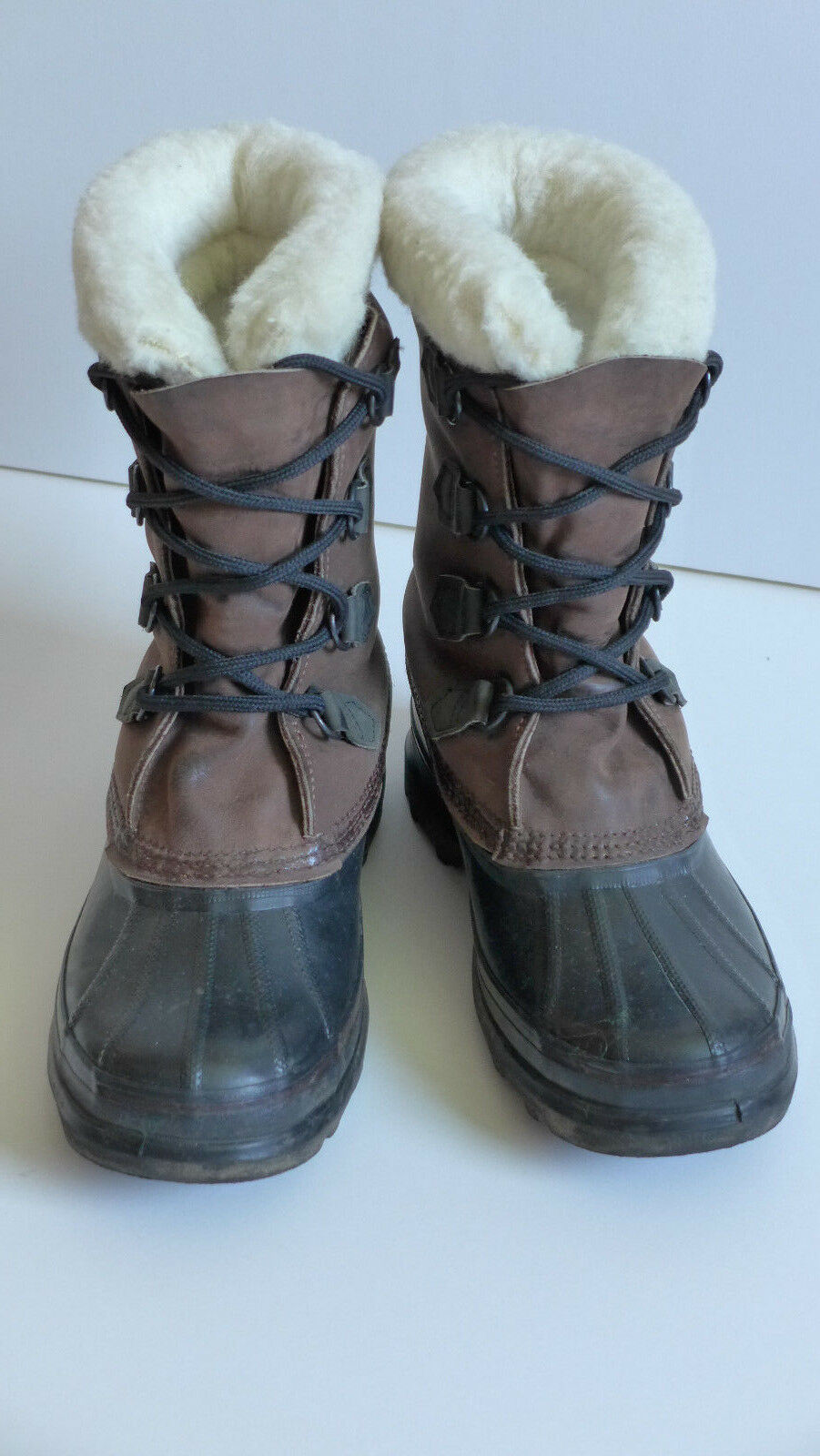Sorel Bighorn Leder Winterstiefel Gr. US 7 made in Canada