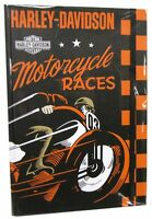 Harley-davidson® Motorcycle Journal Wide Ruled Paper 100 Pages 6x8.5 Hdl-20105
