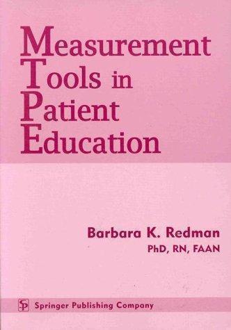Measurement Tools in Patient Education