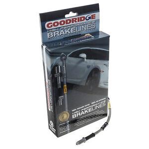 GéNéReuse Mazda Mx5 Brake Hose Set S/acier Tressé Rouge Goodridge Mk1 Mk2 Mk2.5 1989 - 05-afficher Le Titre D'origine Correspondant En Couleur