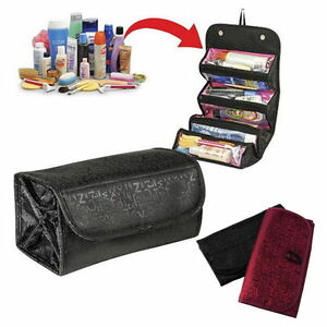 72c1dc3126f8 Details about Travel Toiletry Bag Cosmetic Case Organizer Makeup Beauty  Holder Wash Hanging HC