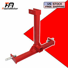 Category 1 Drawbar Tractor Trailer Hitch Receiver 3 Point Attachment Standard