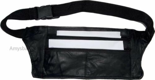 waist bag Flat Leather waist pouch Fanny pack Flat pack BNWT leather bag