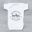 Hand Picked For Earth By My Brother In Heaven Circle Unisex Baby Grow Bodysuit