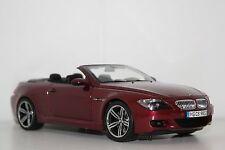 1:18 KYOSHO  BMW M6 E64 Cabrio Indianapolis Red Dealermodel #80430417423 NEU+OVP