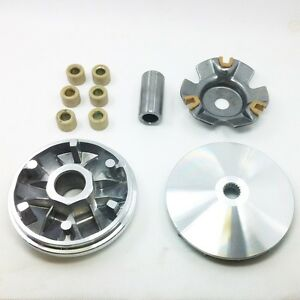 14x Roller Fan Clutch Variator Engine For GY6 49 50cc Scooter Moped ATV Go Kart