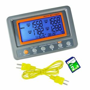 Gain Express A0188598 4-Channel K-Type Thermometer