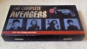 The-Avengers-First-Ever-Episodes-Briefcase-Box-Set-UK-VHS-VIDEO-3-Tape-Set-1995