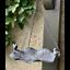 Bird-Feeder-Metal-Hanging-with-Bird-Sculpture-Decor-30x17x36cm thumbnail 1