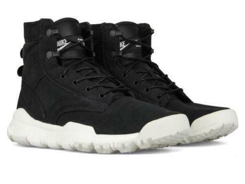 reputable site 0897b eeaef NIKE SFB 6 CANVAS NSW MEN S SIZE 9.5 BOOTS BOOTS BOOTS 844577-001 BLACK  WHITE