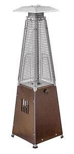 Az Patio Heaters Hlds032 Gtthg Portable Table Top Gl Heater Bronze