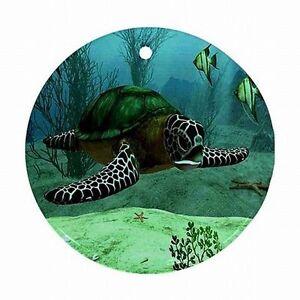 Sea Turtle Ocean Turtles Decor Xmas Christmas Tree ...