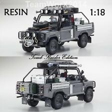 Kyosho KSR08902TR Land Rover Defender Tomb Raider Edition RESIN 1:18 NEW!!!