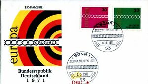1971-GERMAN-EUROPA-20-AND-30-NUMBERED-CACHET-AND-UNADDRESSED-FDC