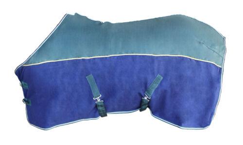 "60/"" Horse Sheet Polar FLEECE COOLER Blanket Green 4305"