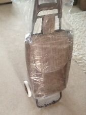 SHOPPING TROLLEY, CART, BAG WITH WHEELS, LIGHT WEIGHT, WATER PROOF, NEW!