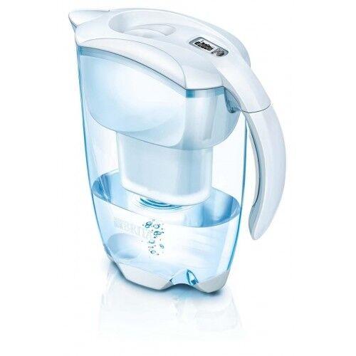 BRITA Elemaris Cool blanc eau cafetière théière Blanc & filtre à eau 1 carafes NEUF