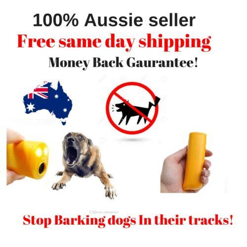 STOP BARK AntiBark Ultrasonic handheld bark stopping device Stop aggressive dogs