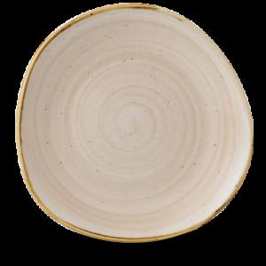 Churchill STONECAST Organic Round Plate Nutmeg Cream Teller rund 28,6 cm