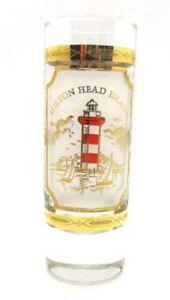 Hilton-Head-Island-Tall-LIGHTHOUSE-Shot-Glass-Souvenir
