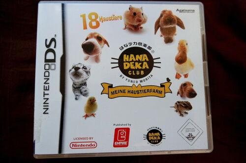 1 von 1 - Meine Haustierfarm - 18 Haustiere Nintendo DS - Deutsch - Komplett mit Handbuch
