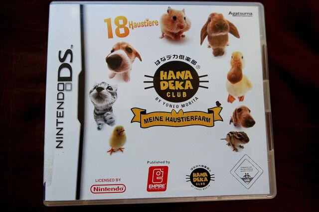 Meine Haustierfarm - 18 Haustiere Nintendo DS Deutsch - Komplett mit Handbuch xx