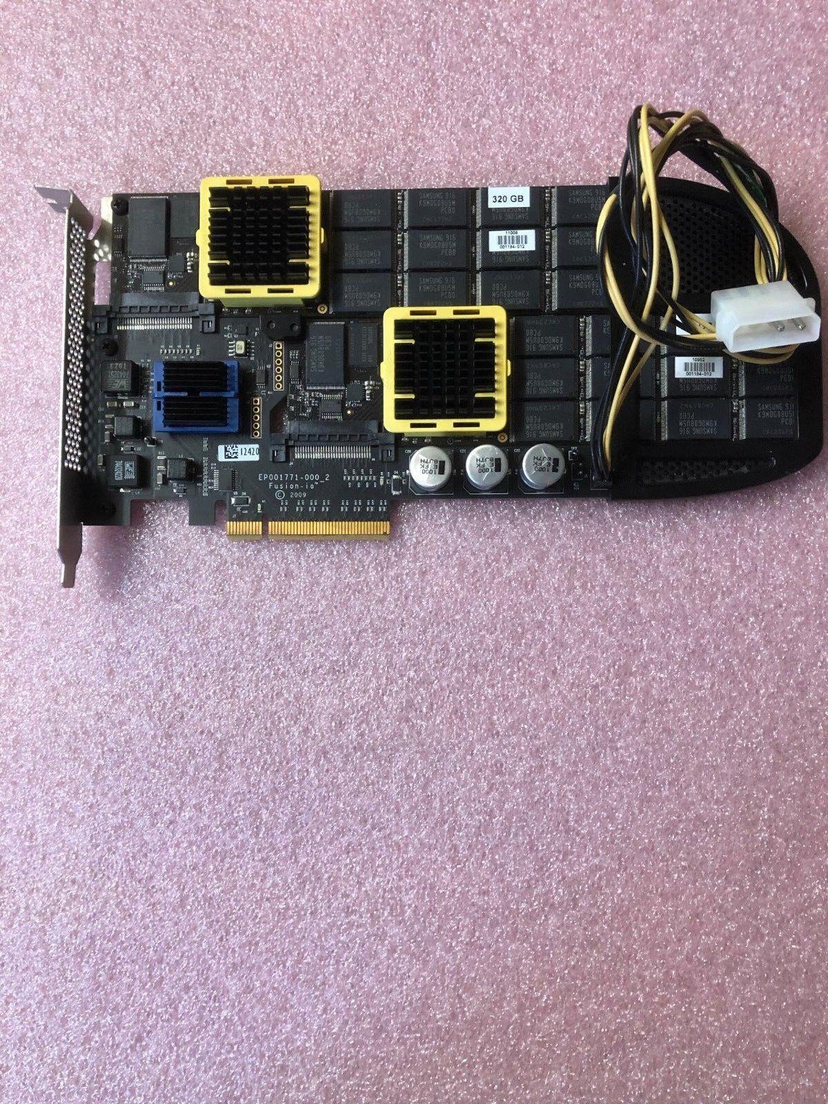 Genuine Dell 640GB Fusion iO Drive PCIe Flash MLC SSD Accelerator 2TTK9 TMP9D
