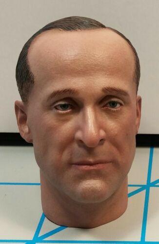 """DID Deuxième Guerre Mondiale Allemand Medic Peter Head Sculpt échelle 1//6 Toys 3R pour 12/"""" action figures"""
