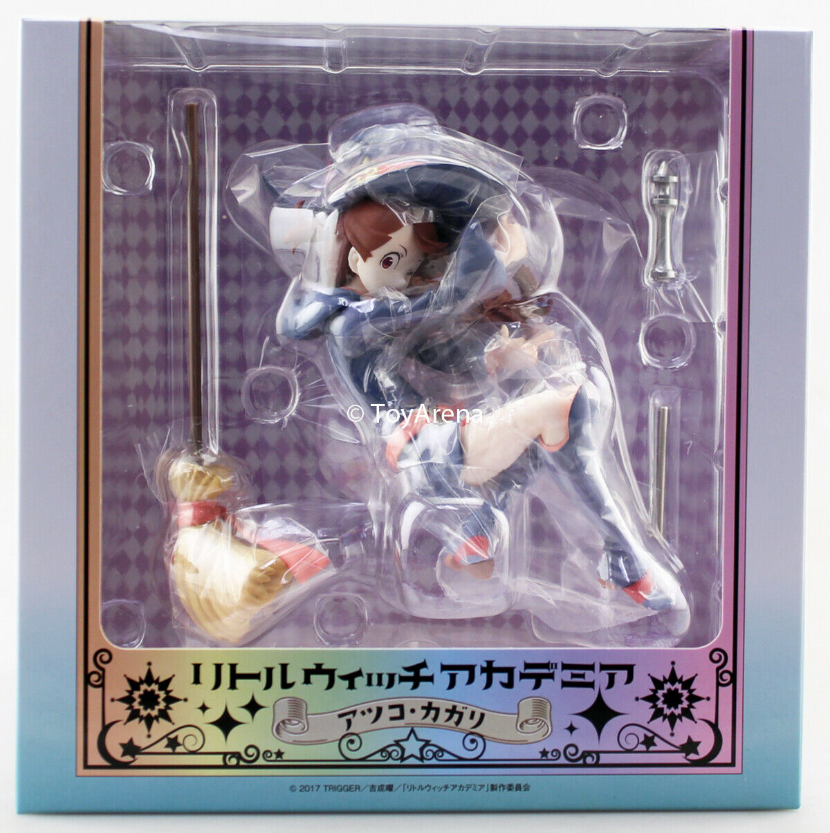 Chara-Ani 1 7 Little Witch Academia Atsuko Kagari Scale Statue Figure USA SELLER