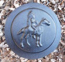 Gostatue southwest horse stepping stone mold plastic concrete plaster mould